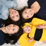大阪の家族写真撮影スタジオ・ハニーアンドクランチのフォトギャラリーL232