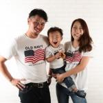 大阪の家族写真撮影スタジオ・ハニーアンドクランチのフォトギャラリーL239