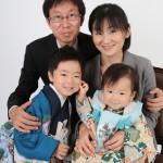 大阪の家族写真撮影スタジオ・ハニーアンドクランチのフォトギャラリーL241