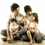 大阪の家族写真撮影スタジオ・ハニーアンドクランチのフォトギャラリーL248