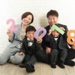 大阪の家族写真撮影スタジオ・ハニーアンドクランチのフォトギャラリーL251