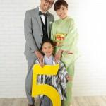 大阪の家族写真撮影スタジオ・ハニーアンドクランチのフォトギャラリーL255