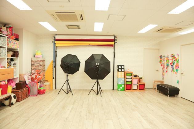 こども写真館HONEY&CRUNCHの神戸三宮・生田神社店のAスタジオ写真02