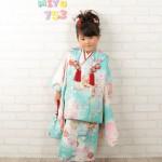 大阪の七五三写真撮影スタジオ・ハニーアンドクランチの3歳女の子和装のフォトギャラリーA126