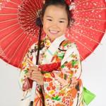 大阪の七五三写真撮影スタジオ・ハニーアンドクランチの3歳女の子和装のフォトギャラリーA203