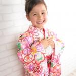 大阪の七五三写真撮影スタジオ・ハニーアンドクランチの7歳女の子和装のフォトギャラリーB072