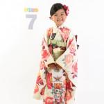 大阪の七五三写真撮影スタジオ・ハニーアンドクランチの7歳女の子和装のフォトギャラリーB144