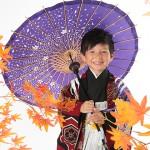 大阪の七五三写真撮影スタジオ・ハニーアンドクランチの男の子の和装のフォトギャラリーC031