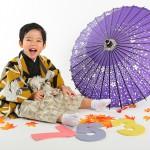 大阪の七五三写真撮影スタジオ・ハニーアンドクランチの男の子の和装のフォトギャラリーc043