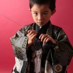 大阪の七五三写真撮影スタジオ・ハニーアンドクランチの男の子の和装のフォトギャラリーC065