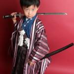 大阪の七五三写真撮影スタジオ・ハニーアンドクランチの男の子の和装のフォトギャラリーC189