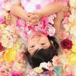 大阪の七五三写真撮影スタジオ・ハニーアンドクランチの7歳女の子ドレス・洋装のフォトギャラリーE190