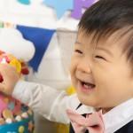 i016nn大阪の誕生日写真撮影スタジオ・ハニーアンドクランチのフォトギャラリー