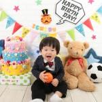 i155nn大阪の誕生日写真撮影スタジオ・ハニーアンドクランチのフォトギャラリー