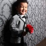 この笑顔でバラを持つとキュンキュンです。