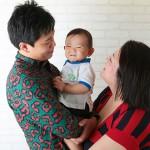 大阪で1歳誕生日写真撮影のブログ写真