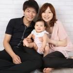 京都でハーフバースデー写真撮影のブログ写真