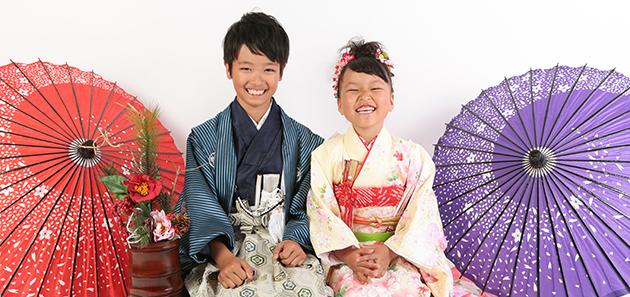 10〜13歳用・男の子のお着物ページのヘッダ写真