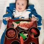 大阪のお宮参り・お食い初め・百日祝写真撮影スタジオ・ハニーアンドクランチのお宮参り和装のフォトギャラリーGW063