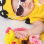 大阪のお宮参り・お食い初め・百日祝写真撮影スタジオ・ハニーアンドクランチのお宮参り洋装のフォトギャラリーG164