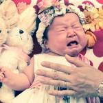 大阪のお宮参り・お食い初め・百日祝写真撮影スタジオ・ハニーアンドクランチのお宮参り洋装のフォトギャラリーG166