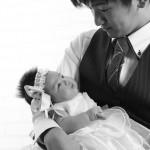 大阪のお宮参り・お食い初め・百日祝写真撮影スタジオ・ハニーアンドクランチのお宮参り洋装のフォトギャラリーG324