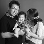 大阪の初節句・ハーフバースディ写真撮影スタジオ・ハニーアンドクランチの洋装のフォトギャラリーH014