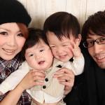 大阪の初節句・ハーフバースディ写真撮影スタジオ・ハニーアンドクランチの洋装のフォトギャラリーH026