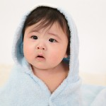大阪の初節句・ハーフバースディ写真撮影スタジオ・ハニーアンドクランチの洋装のフォトギャラリーH034