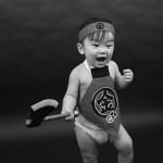 大阪の初節句・ハーフバースディ写真撮影スタジオ・ハニーアンドクランチの和装のフォトギャラリーHW076