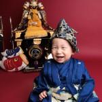 大阪の初節句・ハーフバースディ写真撮影スタジオ・ハニーアンドクランチの和装のフォトギャラリーHW121