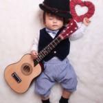大阪の初節句・ハーフバースディ写真撮影スタジオ・ハニーアンドクランチの洋装のフォトギャラリーH130
