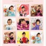 大阪で七五三写真ならハニーアンドクランチのポスタープレゼント01