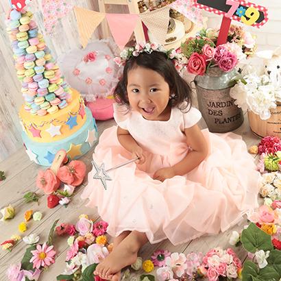 七五三・洋装(2~4歳女の子)
