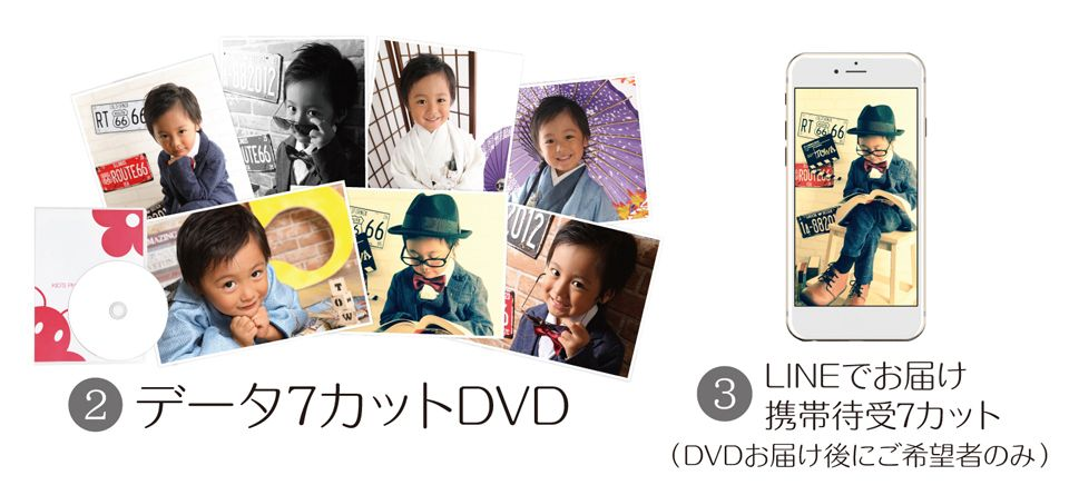 大阪で七五三写真撮影ならハニーアンドクランチのポートレートベーシックコース02