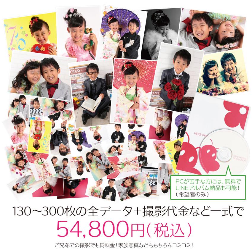 大阪で七五三写真撮影ならハニーアンドクランチの全データのすすめ