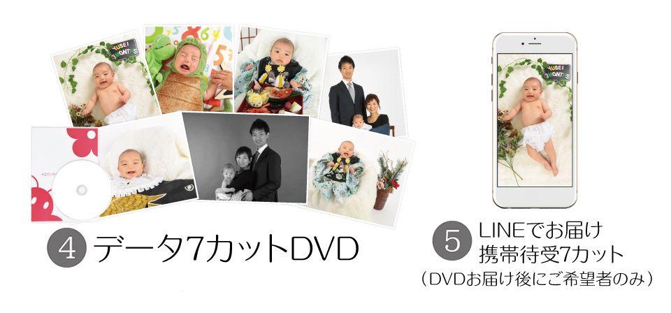大阪でお宮参り写真撮影ならハニーアンドクランチのポートレートセット04