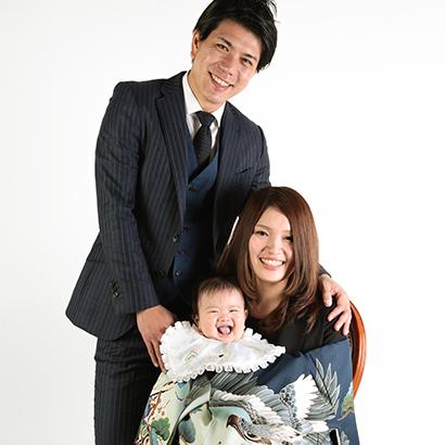 大阪でお宮参り写真撮影ならハニーアンドクランチのコース解説バナー4
