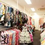 ハニーアンドクランチ神戸三宮店のスタジオお衣装部屋1