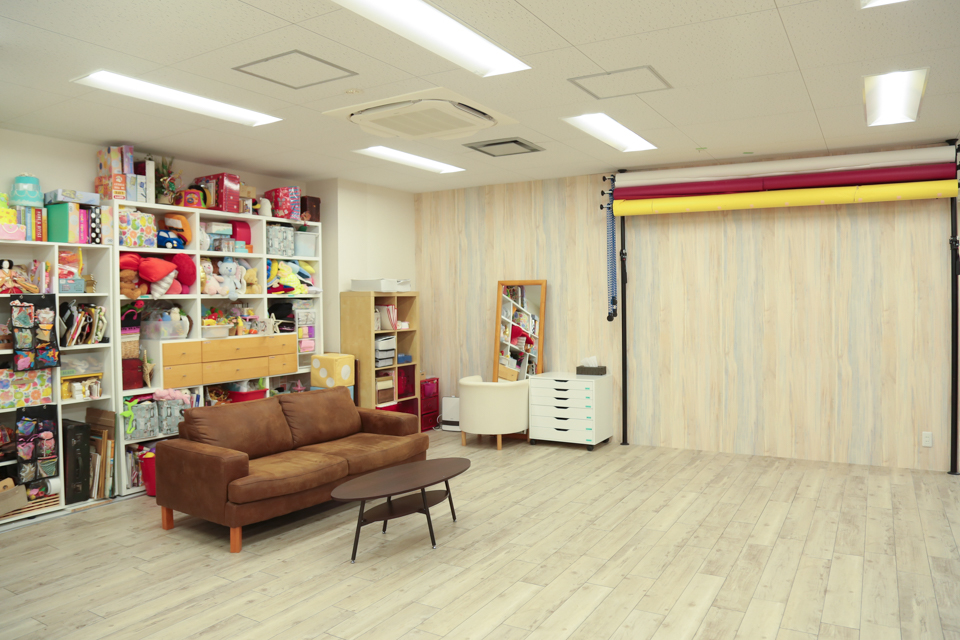 ハニーアンドクランチ神戸三宮店のスタジオ写真