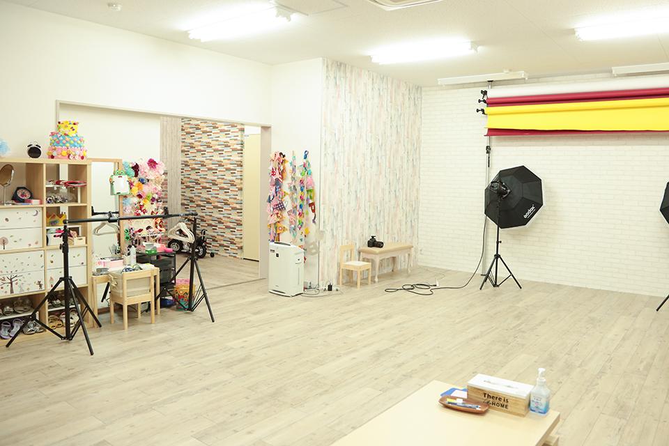 七五三写真館スタジオハニーアンドクランチ大阪天満宮2号店の店舗室内写真