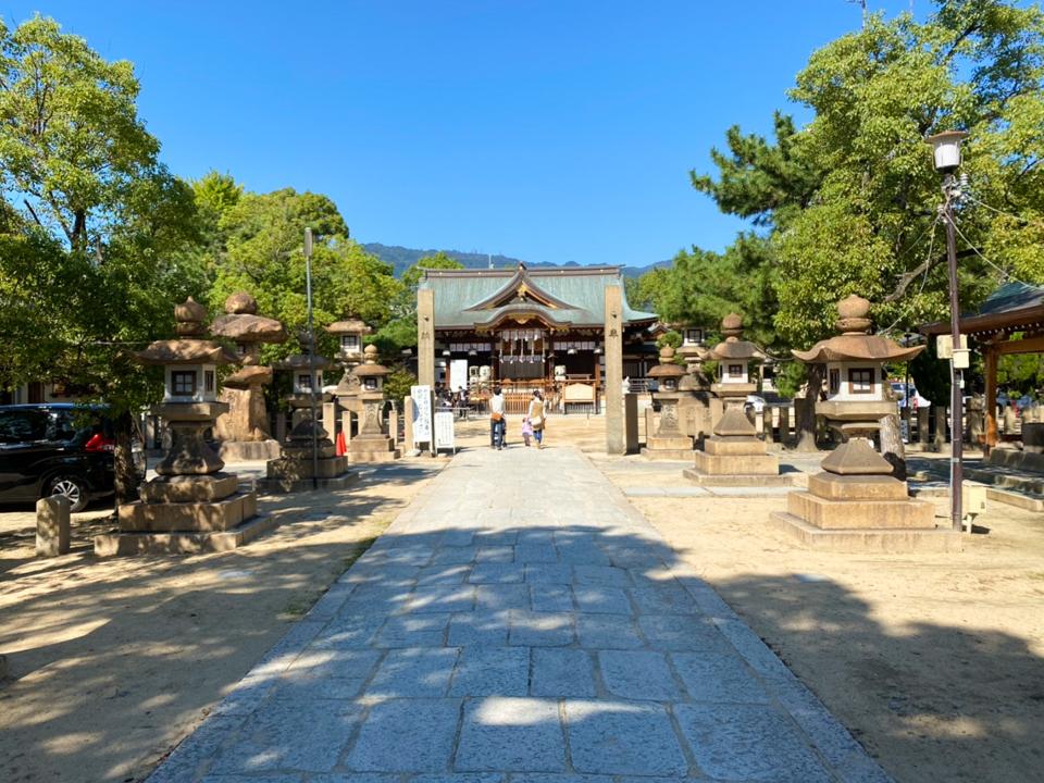 神戸の七五三神社・本住吉神社